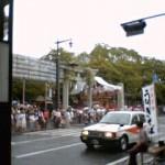 三島大社夏祭り雨模様