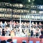 三島大社夏祭り子供しゃぎり大会