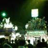 三島大社夏祭り山車の競り合い