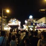 2014当番町山車競り合い(大人しゃぎり大会)